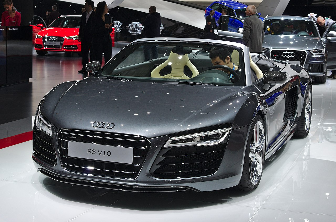 file salon de l 39 auto de gen ve 2014 20140305 audi r8. Black Bedroom Furniture Sets. Home Design Ideas
