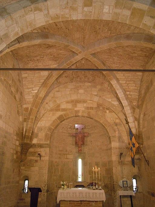 San Giovanni d'Asso, Interno della Chiesa di San Pietro in Villore