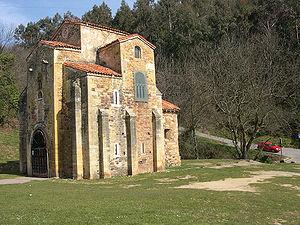 9th century in architecture - San Miguel de Lillo