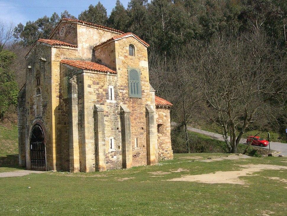 Igrxa prerrománica de San Miguel de Lillo