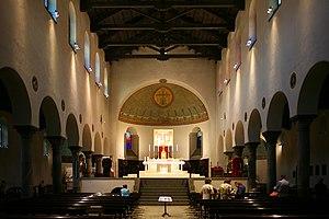 San Vincenzo in Prato - Image: San Vincenzo in Prato Milano interno della chiesa