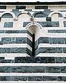 San michele di murato, fianco sx, con rilievi del 1140 ca. 01.jpg