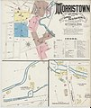 Sanborn Fire Insurance Map from Morristown, Morris County, New Jersey. LOC sanborn05559 001-1.jpg
