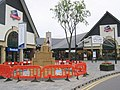 Sand Sculpture at the designer outlet - geograph.org.uk - 271768.jpg