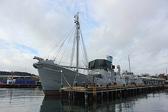 Vestfold - Southern Actor, whale-catcher turned museum ship