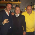 Sandro Salsano with Matt Damon - Davos 2017.png
