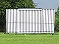 Sandwich Town CC cricket sight screen at Sandwich, Kent, England 01.jpg
