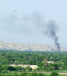 Sangin Place in Helmand Province, Afghanistan