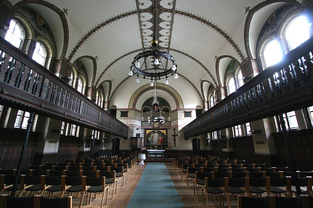 Eglise de Sankt Lukas Kirke à Copenhague.