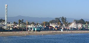 Santa Cruz County, California - Image: Santa Cruz, California Boardwalk