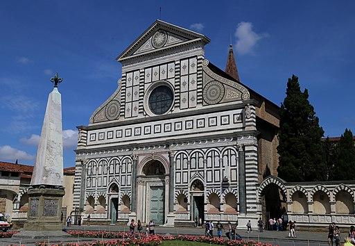 Santa Maria Novella Fassade Florenz-2