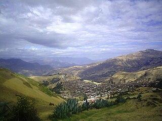 Santiago de Chuco Place in La Libertad Region, Peru