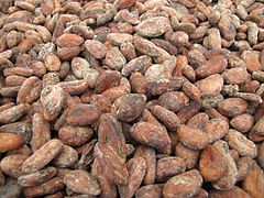 Sao Tome Monteforte Cocoa Beans Drying 2 (16062855549).jpg