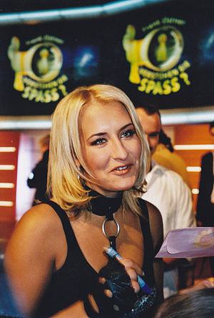 Sarah Connor (singer) - Connor in 2002 at Verstehen Sie Spaß?.