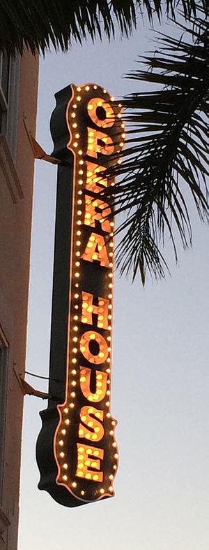 Sarasota Opera House - Sign outside Sarasota Opera House