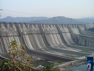 Narendra Modi - The Sardar Sarovar Dam during a 2006 height increase.