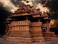 Sas Bahu temple, Gwalior Fort.jpg
