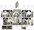 Sassetta. St. Francis Altarpiece. 1437-44. Back side. Reconstruction..jpg
