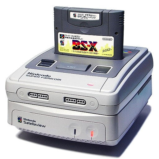 Satellaview with Super Famicom