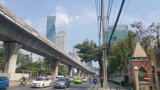 Sathon Road street
