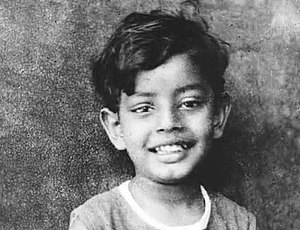 Satyajit Ray - Satyajit Ray as a child