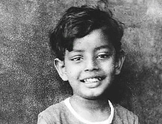 Satyajit Ray - Satyajit Ray as a child