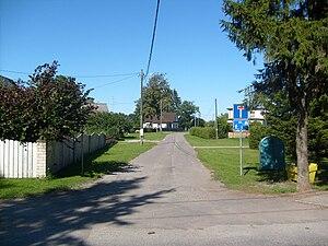 Saue - Street in Saue.