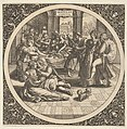 Scene with Galants at a Banquet in a Circle at Center MET DP837275.jpg