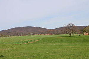 Salem Township, Luzerne County, Pennsylvania - Hills in Salem Township