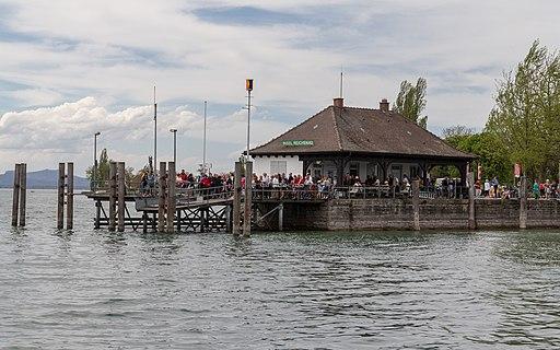 Schiffsanlegestelle der Insel Reichenau