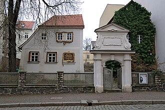 Ode to Joy - Image: Schillerhaus Menckestrasse Leipzig 2009