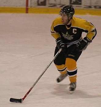 Superior International Junior Hockey League - Diesels captain Reilly Miller (2007)