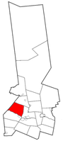 Location of Schuyler in Herkimer County