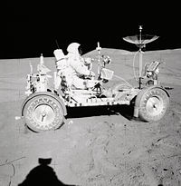 Scott on the Rover - GPN-2000-001306