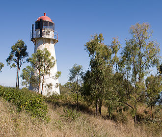 Sea Hill Light - The second Sea Hill Lighthouse which still stands on its original site