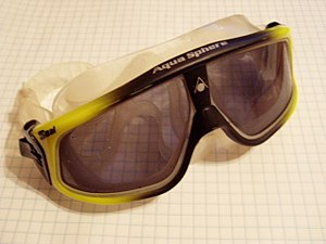SealMask watersport goggles made by AquaSphere