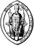 Seal of Jarlerius Archbishop of Uppsala.png