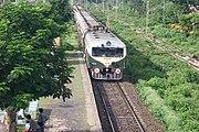 Sealdah Bound Train At Kalyani