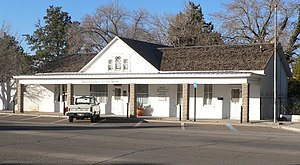 National Register of Historic Places listings in Luna County, New Mexico - Image: Seaman Field House from SE 1