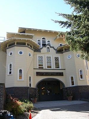 Northwest School - Northwest School in the old Summit building, 2007