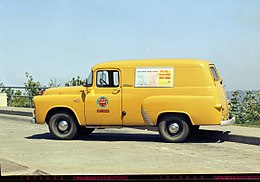 Seattle City Light range service truck, 1968.jpg