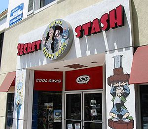 The storefront of Jay and Silent Bob's Secret ...