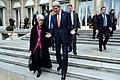 Secretary Kerry Confers With Under Secretary Sherman After Paris Talks (11930916066).jpg