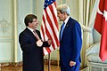 Secretary Kerry Meets With Turkish Foreign Minister Davutoglu in Paris to Discuss Gaza Strip Cease-Fire (14748618362).jpg