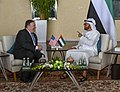 Secretary Pompeo Meets With U.A.E. Crown Prince and Foreign Minister (42600394684).jpg