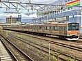 Series 205 M23 in Soga Station.jpg