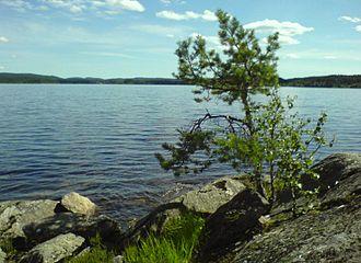 Setten - Setten - seen from the Strøvik area