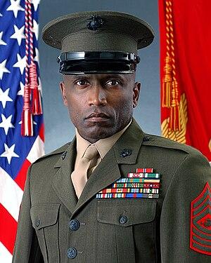John L. Estrada - Estrada as the Sergeant Major of the U.S. Marine Corps.