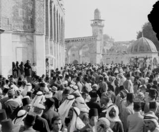 Hashemite custodianship of Jerusalem holy sites Wikimedia list article