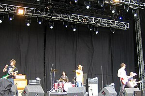 Shed Seven - Shed Seven performing at the V Festival Weston Park, 2008